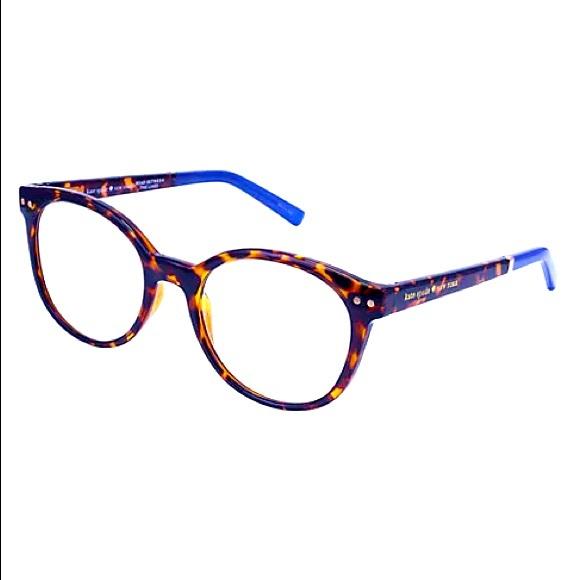 "Kate Spade ♠️ Kaylin ""Blue Havana"" reading glasses"